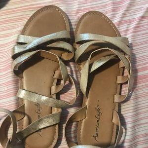 Sandals worn a hand full of times